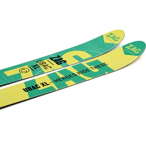 Freerando skis UBAC XL - ZAG