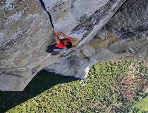 Alex Honnold klettert Freerider Free Solo