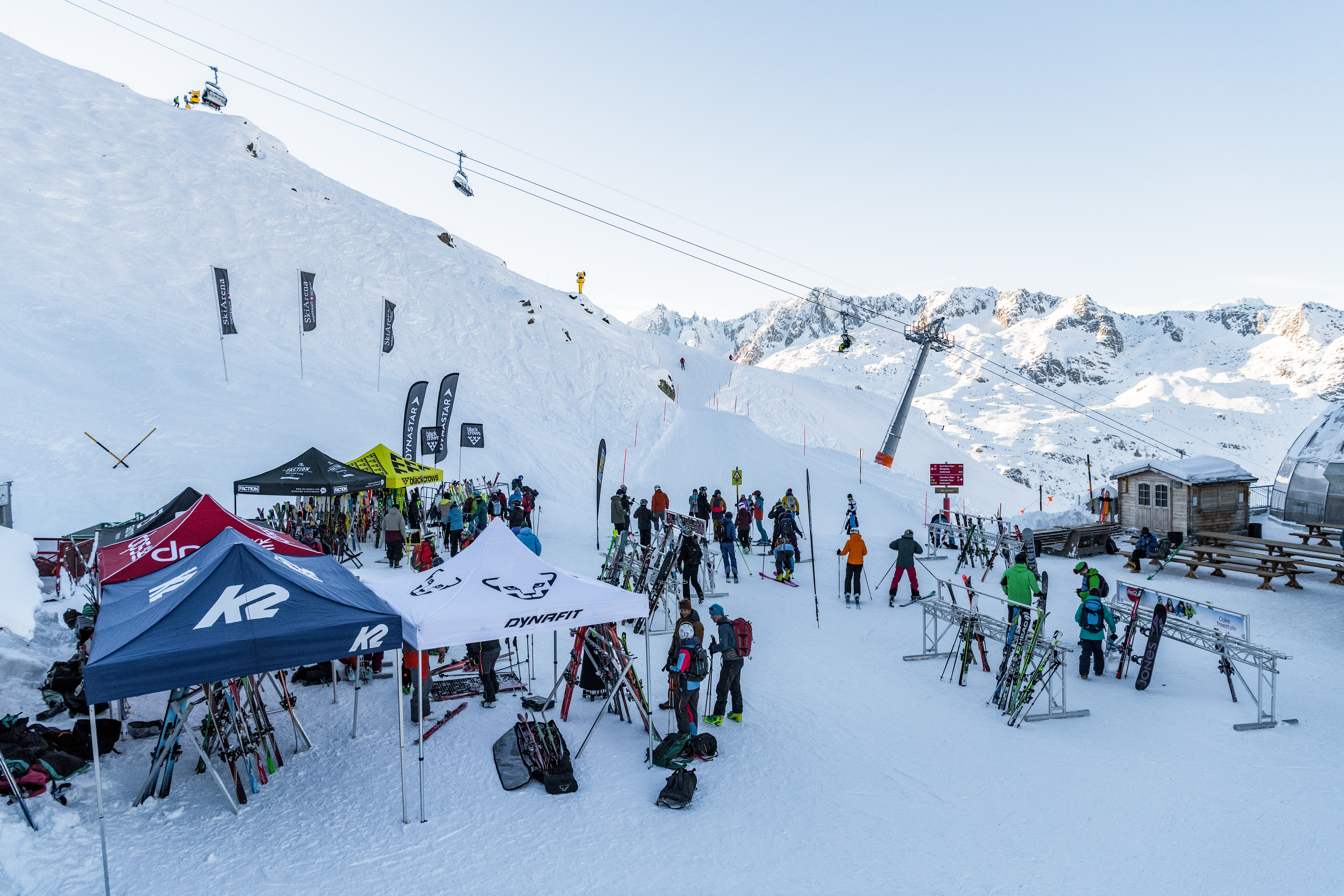 Impressionen vom Transa Skitest 2018