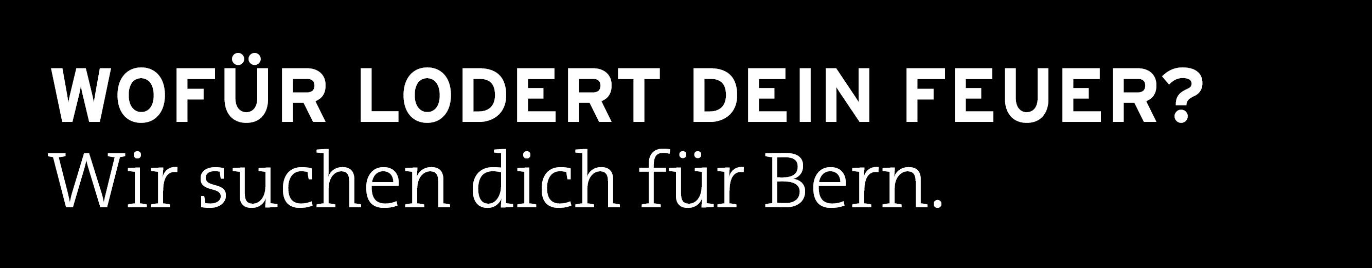 Transa Bern sucht…